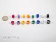 Obrączki 1-kolorowe Niebieski 2FB