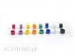 Ecotone Obrączki 1-kolorowe Fioletowe 8FB