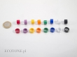 Avian ID Plain colour plastic rings (bands) 4FB - Orange