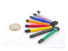 Ecotone Obrączki 1-kolorowe Żółte XF