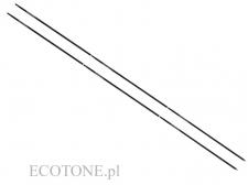 Ecotone Set of Two Aluminium Poles